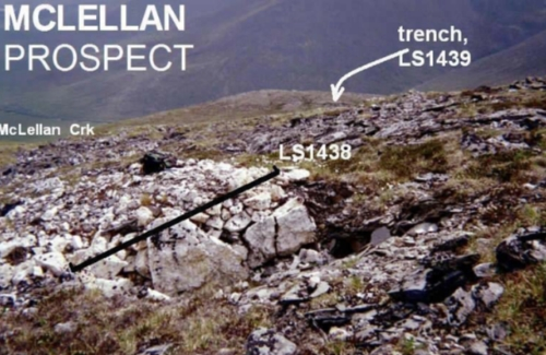 Goldrich Mining Chandalar Gold District Prospects McLellan